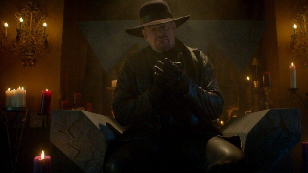 The Undertaker in 'Escape The Undertaker'